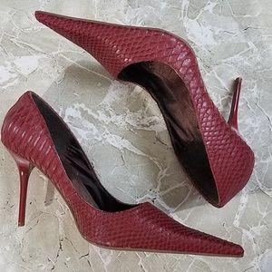 Michael Antonio Mock Croc Stilettos